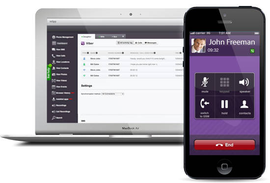 How to Use Viber Spy Software